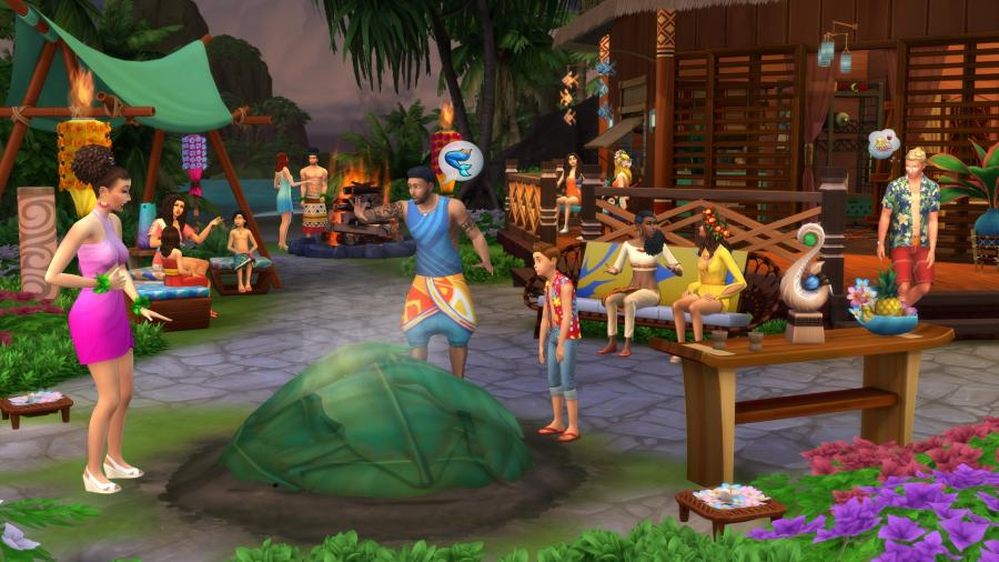 The Sims 4 - Island Living (DLC) Screenshot 4