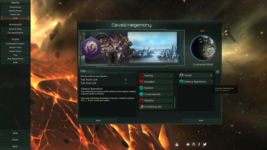 Stellaris - Lithoids Species Pack (DLC) Screenshot 4