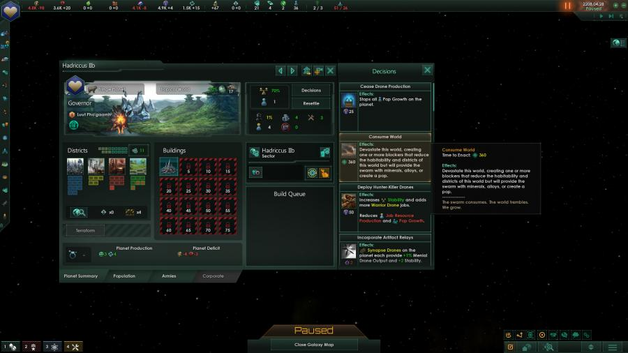 Stellaris - Lithoids Species Pack (DLC) Screenshot 8