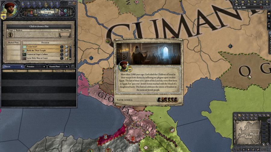 Crusader Kings II - Sons of Abraham (DLC) Screenshot 4