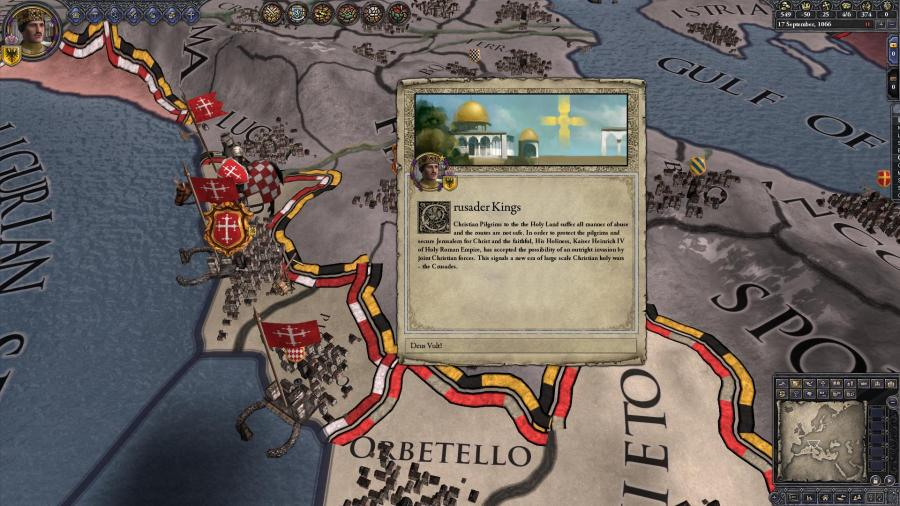 Crusader Kings II - Sons of Abraham (DLC) Screenshot 3