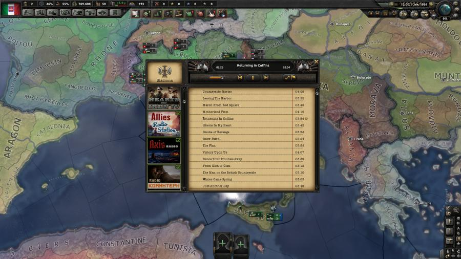 Hearts of Iron IV - Radio Pack (DLC) Screenshot 2