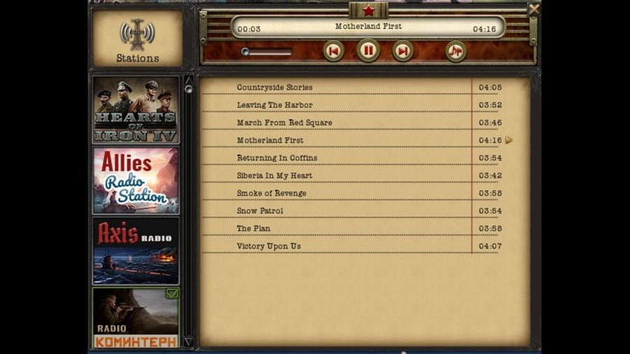 Hearts of Iron IV - Radio Pack (DLC) Screenshot 4