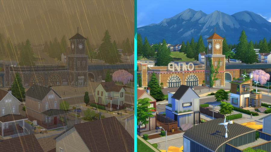 The Sims 4 - Eco Lifestyle (DLC) Screenshot 4