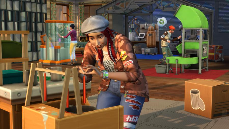 The Sims 4 - Eco Lifestyle (DLC) Screenshot 2