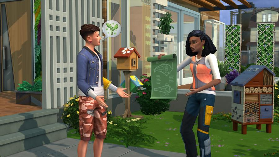 The Sims 4 - Eco Lifestyle (DLC) Screenshot 3