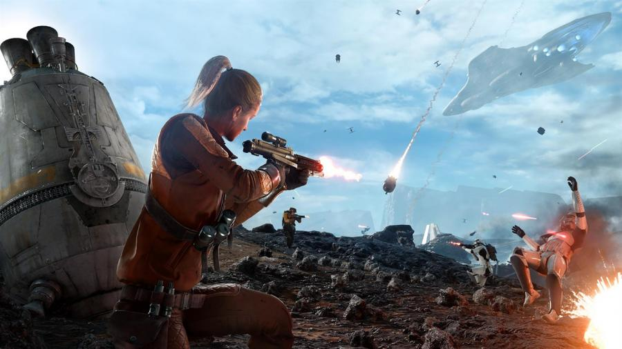 Star Wars Battlefront - Ultimate Edition (Xbox One Download Code) - EU Key Screenshot 6