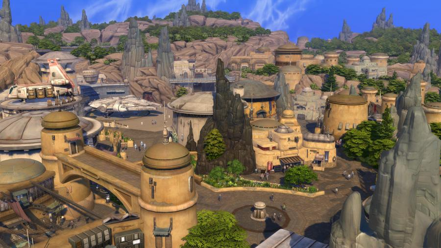 The Sims 4 - Journey to Batuu (DLC) Screenshot 2