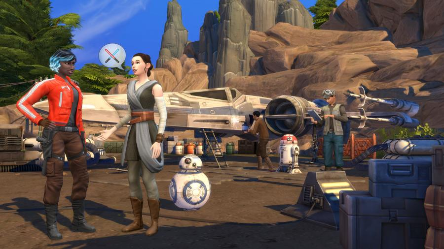 The Sims 4 - Journey to Batuu (DLC) Screenshot 3