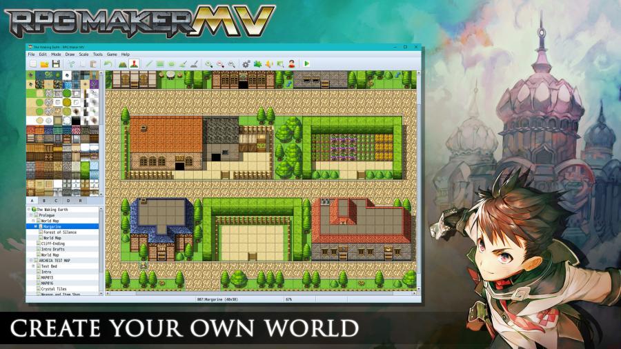 Buy RPG Maker MV, RPGMV Game Creator Steam Key - MMOGA