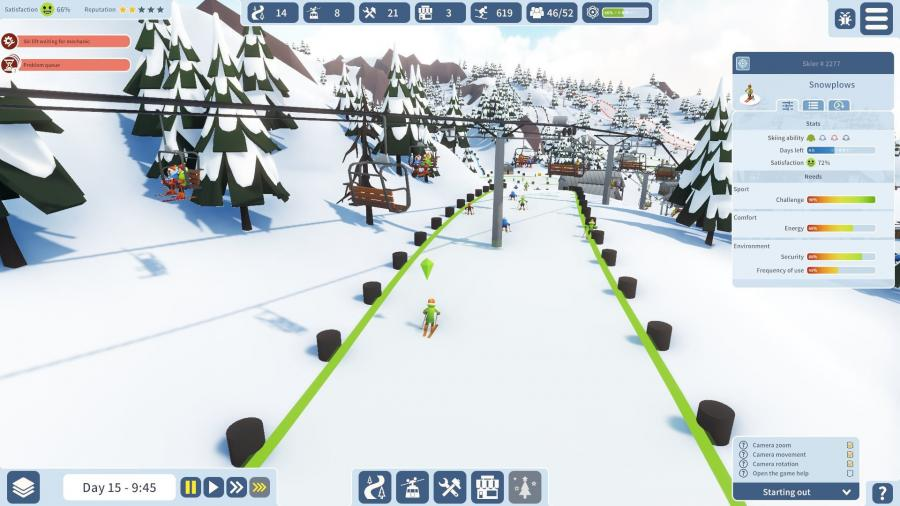 Snowtopia - Ski Resort Tycoon Screenshot 7