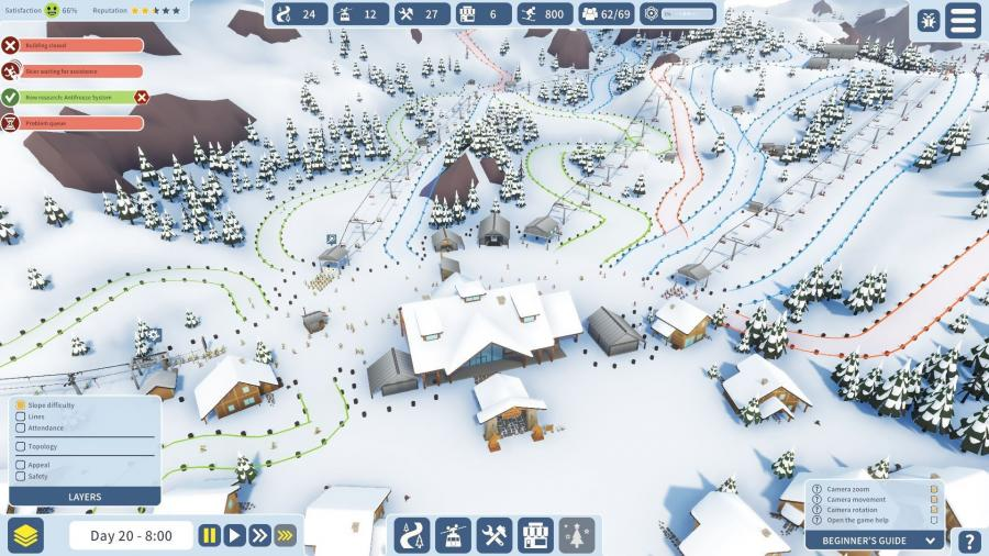Snowtopia - Ski Resort Tycoon Screenshot 2