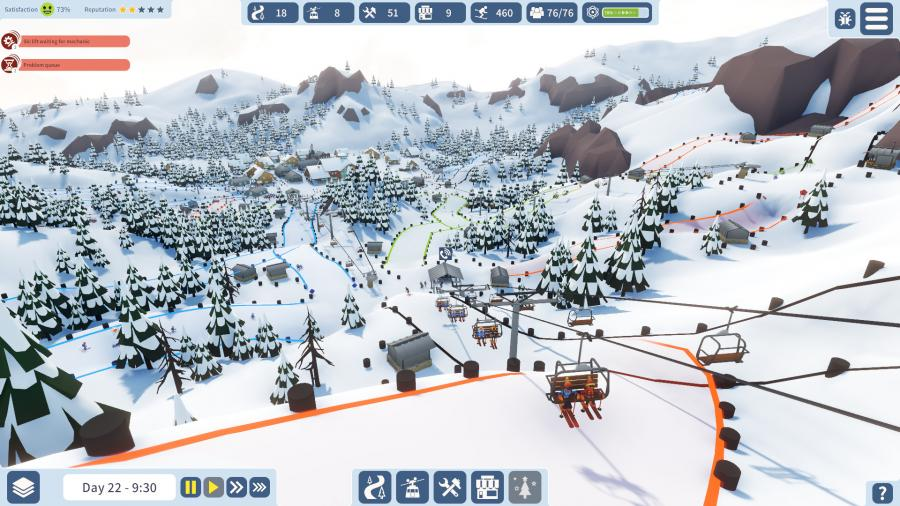 Snowtopia - Ski Resort Tycoon Screenshot 5