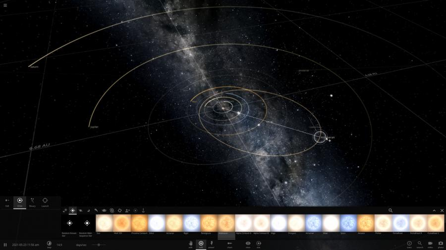 Universe Sandbox Screenshot 3